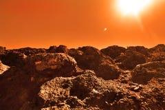 Planeta desconocido Imagen de archivo libre de regalías