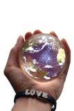 Planeta do amor Imagens de Stock Royalty Free