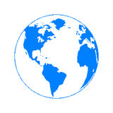 Planeta do pixel Imagens de Stock Royalty Free