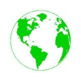 Planeta do pixel Foto de Stock Royalty Free