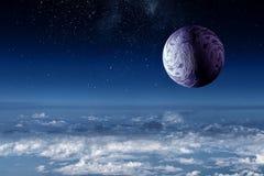 Planeta do Plutão Meios mistos fotos de stock