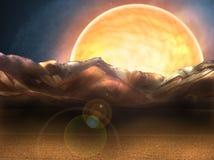 planeta dziwaczna Zdjęcie Stock