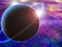 Planeta e cosmos ilustração do vetor