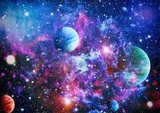 Planeta - elementy ten wizerunek Meblujący NASA zdjęcia stock