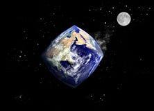 Planeta em mudança Foto de Stock Royalty Free