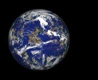 Planeta en espacio Imagenes de archivo