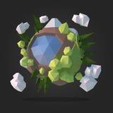 Planeta estrangeiro abstrato Fotografia de Stock Royalty Free