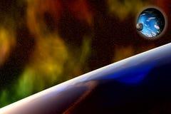 Planeta estranho 3 Foto de Stock Royalty Free