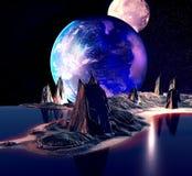 Planeta extranjero Fotografía de archivo