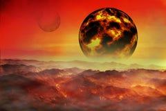 Planeta fantástico Imagen de archivo libre de regalías