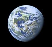 Planeta gerado por computador Fotografia de Stock Royalty Free