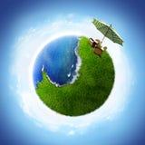 Planeta ideal ilustração royalty free