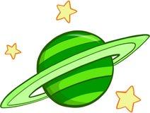 planeta ilustracyjny wektora Fotografia Royalty Free