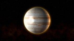 Planeta Júpiter almacen de metraje de vídeo