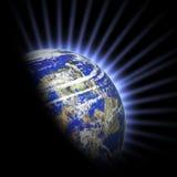 planeta lekcy promienie Zdjęcia Royalty Free