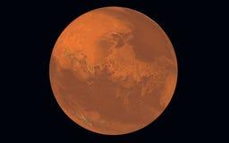 Planeta Marte Imágenes de archivo libres de regalías