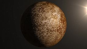 Planeta Mercury royalty ilustracja