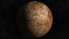 Planeta Mercury ilustracji