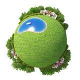 Planeta mero 3D Foto de Stock
