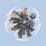 Planeta minúsculo de Dubai pequeño Fotografía de archivo