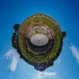 Planeta minúsculo II del anfiteatro imagen de archivo libre de regalías