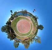 Planeta miniatura imagenes de archivo