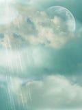 Planeta misterioso ilustração do vetor