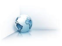 Planeta no canto Imagens de Stock