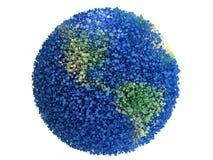 Planeta od cząsteczek Zdjęcia Royalty Free