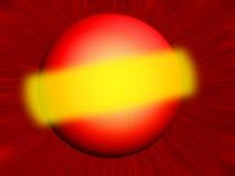Planeta rojo imagen de archivo libre de regalías