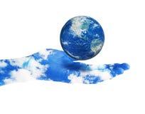 planeta save Fotografia Royalty Free