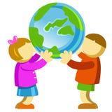 planeta save Zdjęcia Royalty Free