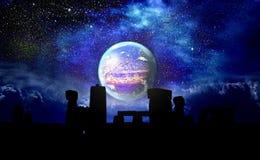 Planeta StonehengeX encima imágenes de archivo libres de regalías