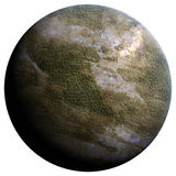 planeta terraforming Fotografia Stock