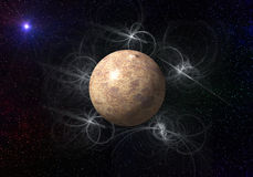 Planeta tormentoso Foto de Stock Royalty Free