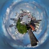 Planeta tormentoso de Londres Fotos de Stock Royalty Free