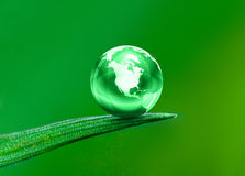 Planeta verde Fotos de archivo