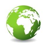 Planeta verde Fotografia de Stock Royalty Free