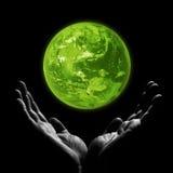 Planeta verde Foto de archivo