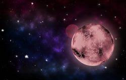 Planeta vermelho foto de stock
