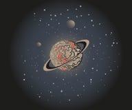 Planeta w Przestrzeni Zdjęcie Royalty Free