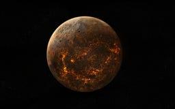Planeta widok Zdjęcie Royalty Free