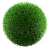 Planeta zielona trawa fotografia stock