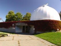 Planetarieum observatorium i Vancouver Arkivfoto