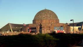 Planetario Chicago - ciudad de Adler de Chicago almacen de video