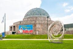 Planetario de Adler, Chicago, los E.E.U.U. imagen de archivo