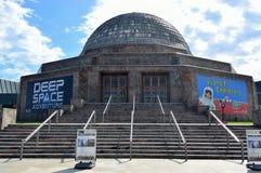 Planetario de Adler en Chicago Imagen de archivo libre de regalías