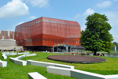 Planetario de Varsovia Foto de archivo libre de regalías