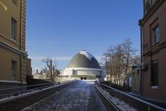 Planetario del museo dello stato di Mosca La Russia Immagini Stock Libere da Diritti