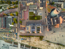 Planetario EC1 qui sopra Fotografie Stock Libere da Diritti